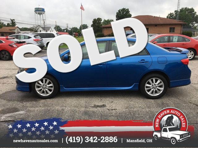 2009 Toyota COROLLA s in Mansfield, OH 44903