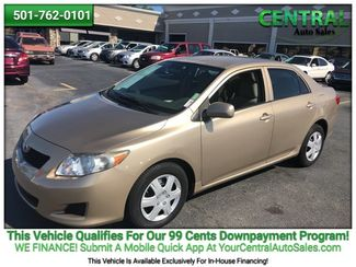 2009 Toyota COROLLA/PW  | Hot Springs, AR | Central Auto Sales in Hot Springs AR