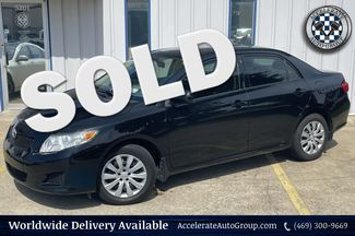 2009 Toyota Corolla 1.8L VVT-I 4 CYLINDER, FWD, UBER CLEAN LE  in Rowlett