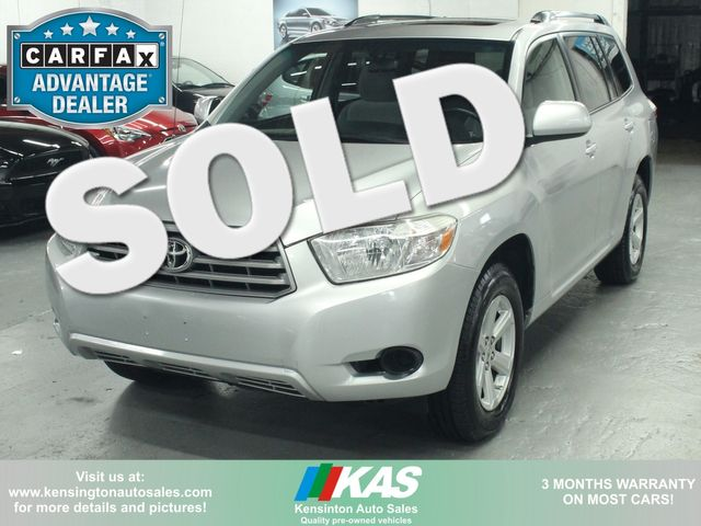 2009 Toyota Highlander 4WD w/ 3rd. Row Kensington, Maryland