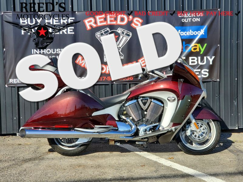2009 Victory Vision  | Hurst, Texas | Reed's Motorcycles in Hurst Texas