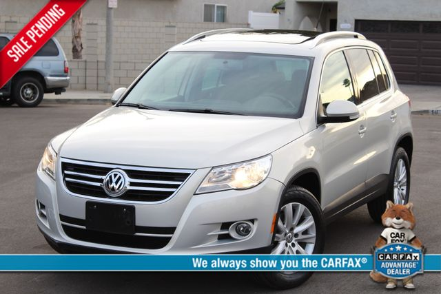 2009 Volkswagen TIGUAN SE 4 MOTION 4WD 42K AUTOMATIC PANORAMIC SERVICE RECORDS