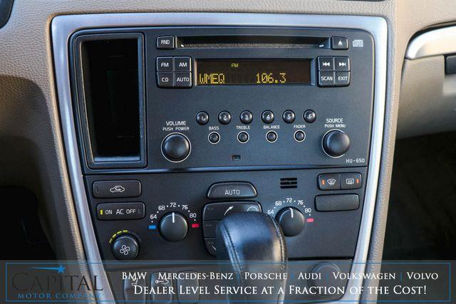 2009 Volvo S60 2.5T Turbo Luxury Sedan w/Moonroof, Power Seats w/Memory and 8-Speaker Audio w/Aux in Eau Claire, Wisconsin 54703