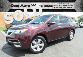 2010 Acura MDX AWD Nav Tv/DVD Sunroof 1-Own Cln Carfax We Finance | Canton, Ohio | Ohio Auto Warehouse LLC in  Ohio