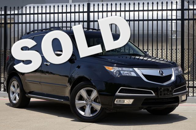 2010 Acura MDX Technology Pkg * DVD * Roof * NAVI * BU Camera * Plano, Texas