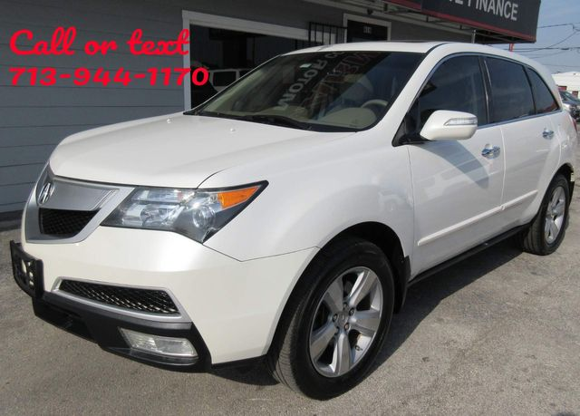 2010 Acura MDX Technology/Entertainment Pkg south houston, TX