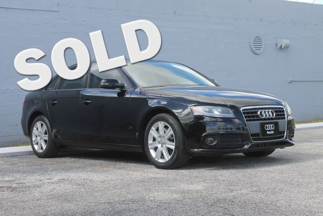 2010 Audi A4 2.0T Premium Hollywood, Florida