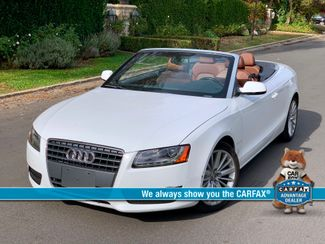 2010 Audi A5 PREMIUM PLUS CONVERTIBLE 72K MLS NAVIGATION SERVICE RECORDS in Van Nuys, CA 91406