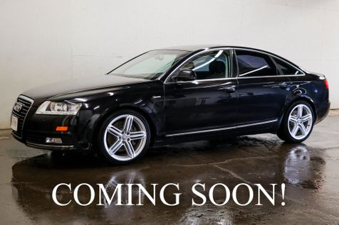 2010 Audi A6 Prestige 3.0T Quattro AWD w/Navigation, Backup Cam, Heated Seats & Power Moonroof in Eau Claire