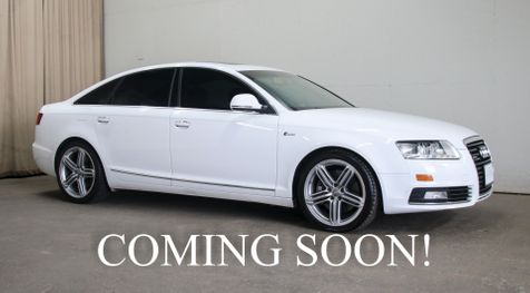 2010 Audi A6 Prestige 3.0T Quattro AWD Executive Sedan w/Navigation, Heated Seats, Bose Audio & 19