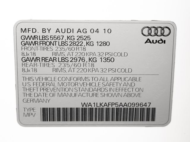 2010 Audi Q5 Premium Plus Burbank, CA 28