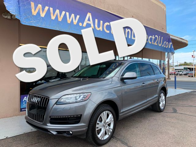 2010 Audi Q7 AWD QUATTRO 3.0L TDI Premium Plus 10 YEAR/120,000 MILE TDI WARRANTY Mesa, Arizona