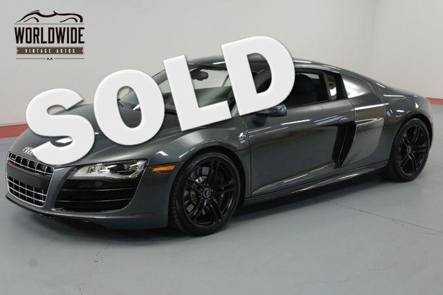 2010 Audi R8 V10 5.2L 6 SPEED 1 OF 500 4K MILES ONE OWNER. | Denver, CO | Worldwide Vintage Autos in Denver CO