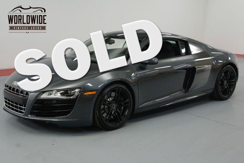 2010 Audi R8 V10 5.2L 6 SPEED 1 OF 500 4K MILES ONE OWNER.   Denver, CO   Worldwide Vintage Autos