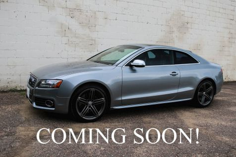 2010 Audi S5 Quattro AWD V8 Coupe w/Sport Differential, Navigation, Panoramic Roof, B&O Audio and 19