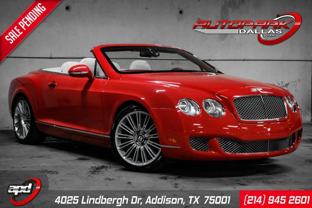 2010 Bentley Continental GTC Speed in Addison, TX 75001