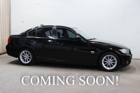 2010 BMW 328xi xDrive AWD Luxury Sports Car w/6-Speed Manual, Heated Seats, Xenon HIDs & 2-Tone Interior in Eau Claire