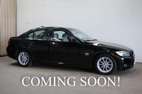 2010 BMW 328xi xDrive AWD Sport Sedan w/Navigation Heated Seats Moonroof Aux Audio & 2-Tone Interior in Eau Claire