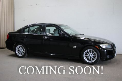 2010 BMW 328xi xDrive AWD Sport Sedan w/Navigation Heated Seats Moonroof Aux Audio & 2-Tone Interior in Eau Claire