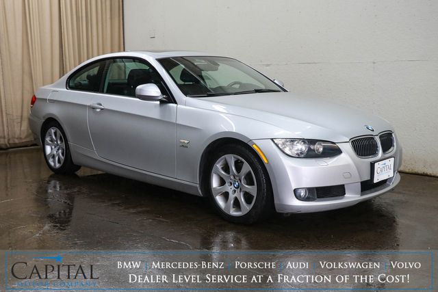 2010 BMW 328xi xDrive AWD Coupe with Sport Package, Navigation, Moonroof, Heated Seats & B.T. Audio