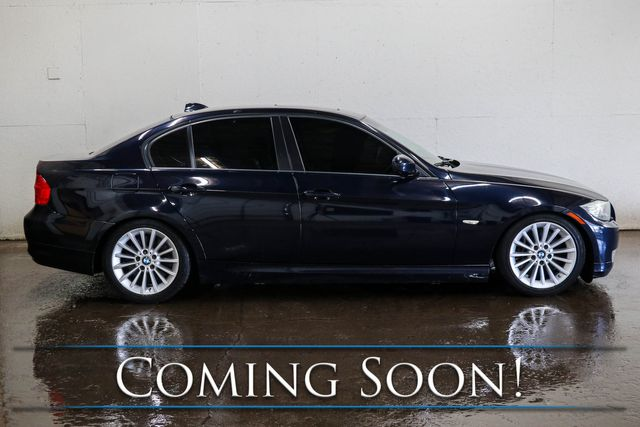 2010 BMW 335d Clean Turbo Diesel w/Nav, Heated Seats, Keyless Start, Moonroof & Hi-Fi Audio