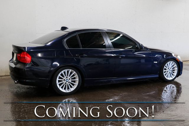 2010 BMW 335d Clean Turbo Diesel w/Nav, Heated Seats, Keyless Start, Moonroof & Hi-Fi Audio in Eau Claire, Wisconsin 54703