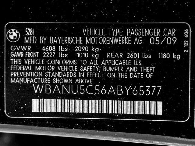 2010 BMW 528i Burbank, CA 19