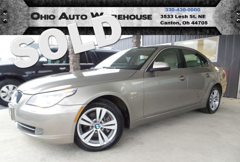 2010 BMW 528i xDrive AWD Navigation Sunroof V6 Clean Carfax We Finance   Canton, Ohio   Ohio Auto Warehouse LLC in Canton Ohio