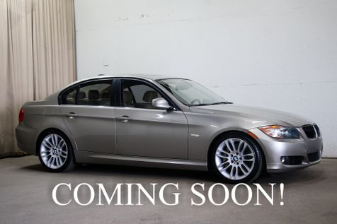 2010 BMW 335d Turbo Diesel with Sport Package, Heated Seats, Logic7 Audio & 18-Inch Rims in Eau Claire
