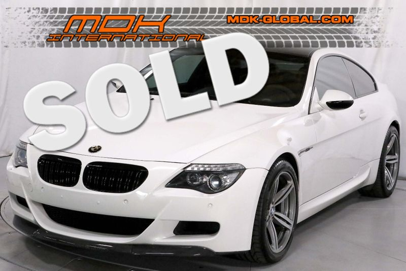 2010 BMW M6 - Dinan - NBT Nav - Last year city California