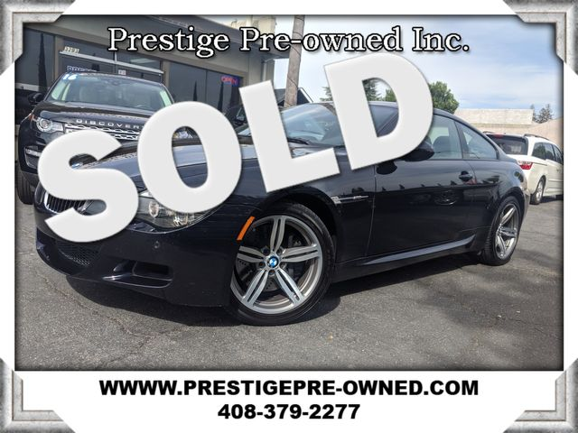2010 BMW M6  ((**ORIGINAL MSRP $114,820**))A  in Campbell CA