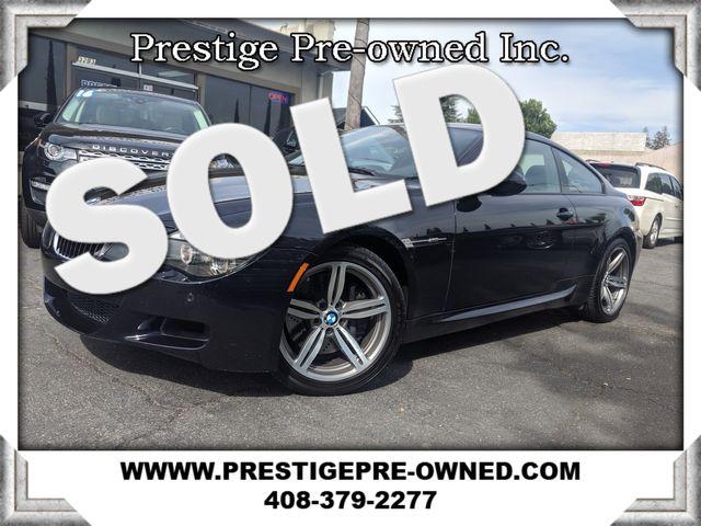 2010 BMW M6  ((**ORIGINAL MSRP $114,820**))A  in Campbell CA