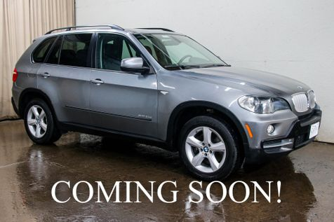 2010 BMW X5 xDrive35d AWD Clean Diesel w/Navigation, Backup Cam, Heated Seats, Panoramic Roof & Bluetooth in Eau Claire
