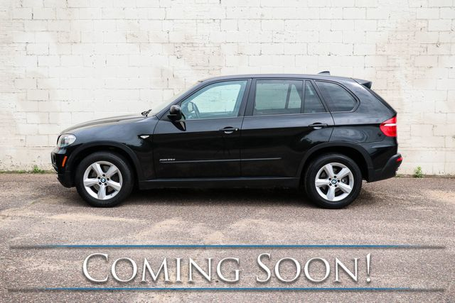 2010 BMW X5 xDrive35d AWD Clean Diesel SUV w/Nav, Backup Cam, Panoramic Roof & DVD Entertainment Sys in Eau Claire, Wisconsin 54703