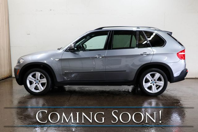 2010 BMW X5 xDrive35d AWD Clean Diesel w/Sport Pkg, Nav, Backup Cam, Heated Seats & Panoramic Moonroof in Eau Claire, Wisconsin 54703