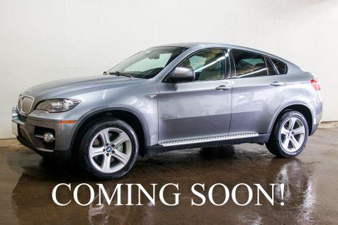 2010 BMW X6 xDrive50i AWD V8 Sport Pkg SUV w/Navigation, Heated F/R Seats, Panoramic Roof & 19