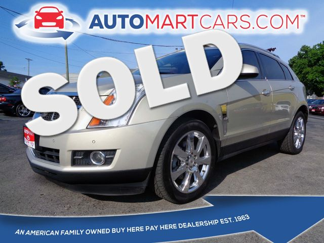 2010 Cadillac SRX Performance Collection   Nashville, Tennessee   Auto Mart Used Cars Inc. in Nashville Tennessee