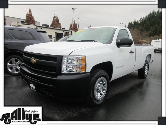 2010 Chevrolet 1500 Silverado WT in Burlington, WA 98233