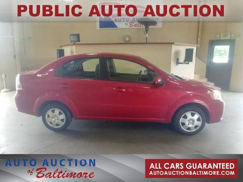 2010 Chevrolet Aveo LT w/1LT | JOPPA, MD | Auto Auction of Baltimore  in JOPPA MD