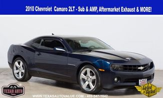 """2010 Chevrolet Camaro 2LT - Gifted - 2 - 10"""" Subs with Amp & Exhaust in Dallas, TX 75001"""