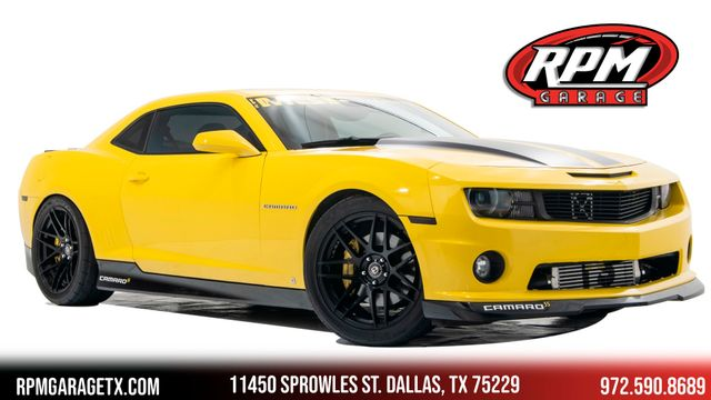 2010 Chevrolet Camaro 2SS Cammed Supercharged with Many Upgrades