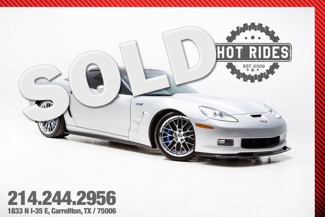 2010 Chevrolet Corvette ZR1 Cammed With Many Upgrades 740whp