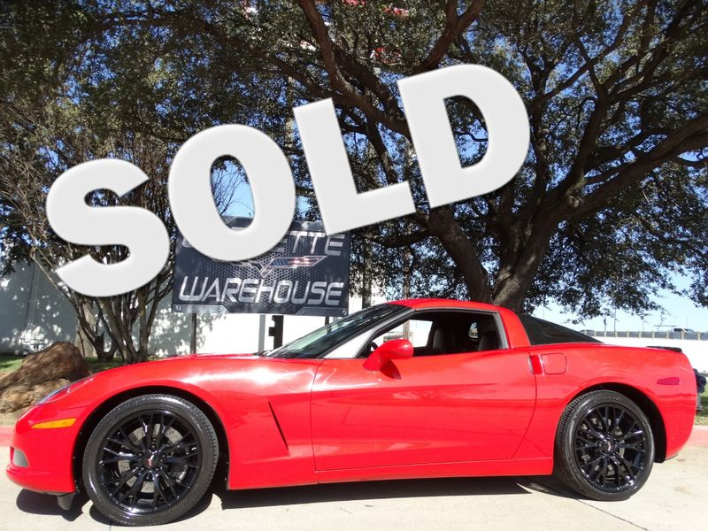2010 Chevrolet Corvette Coupe 3LT, F55, NAV,  ZR1 Black Alloys 77k! | Dallas, Texas | Corvette Warehouse