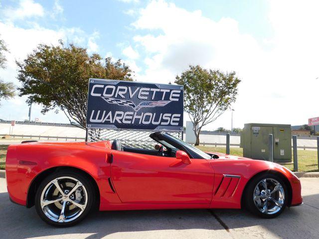 2010 Chevrolet Corvette Grand Sport 3LT, Heritage, NAV, Auto, Chromes 23k in Dallas, Texas 75220
