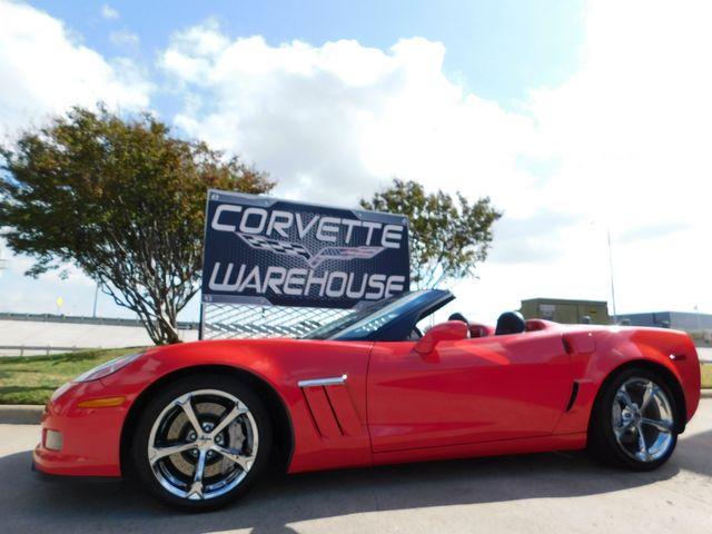 2010 Chevrolet Corvette Grand Sport 3LT, Heritage, NAV, Auto, Chromes 23k
