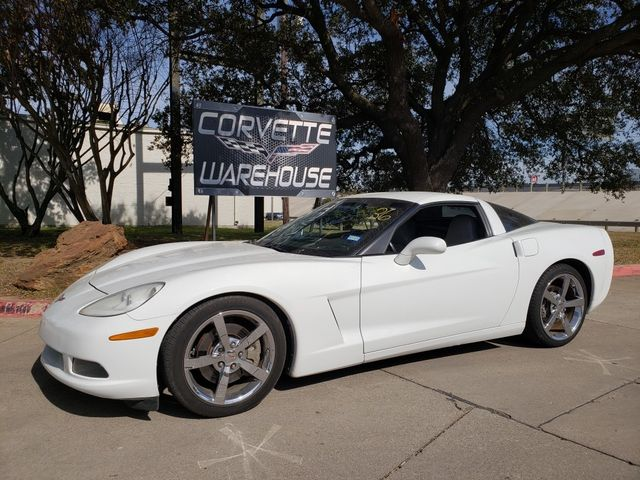 2010 Chevrolet Corvette Coupe 3LT, NAV, Auto, Chrome Wheels, Nice