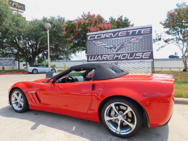 2010 Chevrolet Corvette Grand Sport 3LT, NAV, Heritage, Auto, Chromes 22k in Dallas, Texas 75220