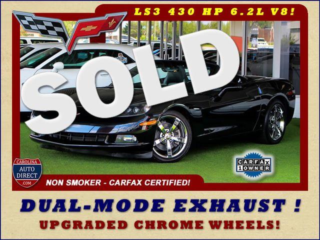 2010 Chevrolet Corvette w/2LT - PERFORMANCE EXHAUST - CHROME WHEELS! Mooresville , NC