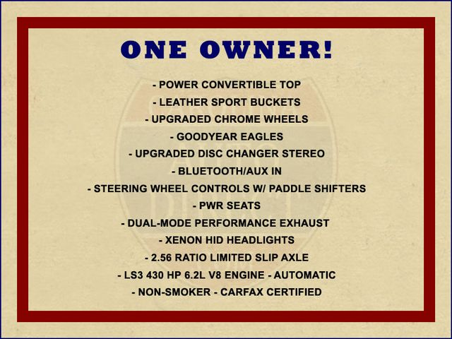 2010 Chevrolet Corvette w/2LT - PERFORMANCE EXHAUST - CHROME WHEELS! Mooresville , NC 1