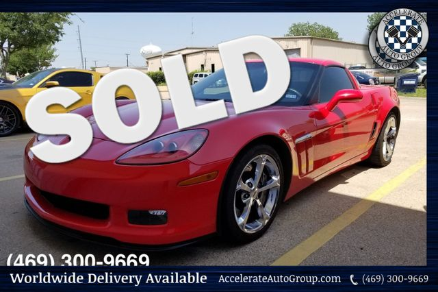 2010 Chevrolet Corvette Grand Sport NAV 35K Miles 3LT in Rowlett